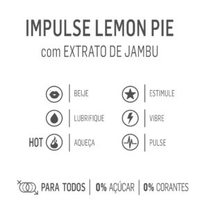 Gel Estimulante e excitante unissex – LEMON PIE