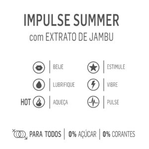 Gel Estimulante e excitante unissex – IMPULSE SUMMER
