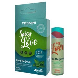 Spicy Love Ice sabor Menta – Gel Beijável